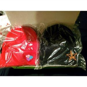 Jeffree Star mystery box beanie set